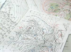 ilmakaardid sünoptiku töölaual