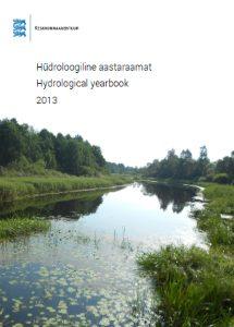 Hüdroloogia aastaraamat 2013 kaanepilt