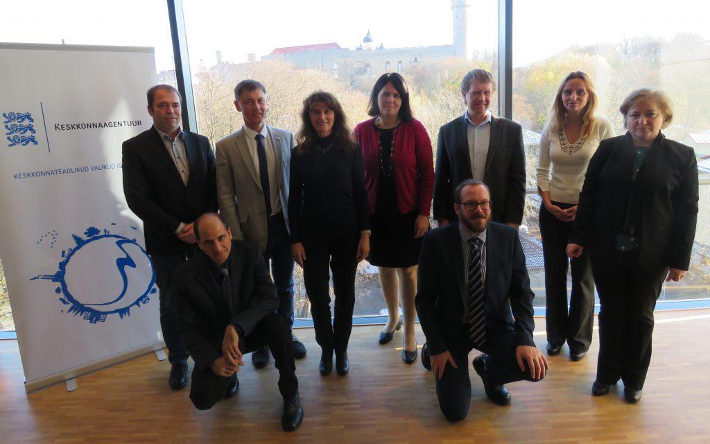 Grupipilt ECMWF koopereerunud liikmesriikidest koosnevast nõuandvast komiteest