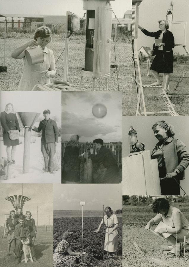 Ilmavaatlused Riigi Ilmateenistuse seirejaamades 20. sajandil