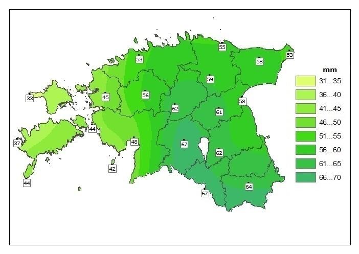 precipitation_1961-1990_06