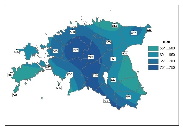 precipitation_1961-1990_annual